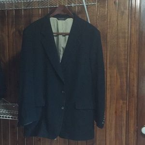 Jos A Bank black wool sport coat
